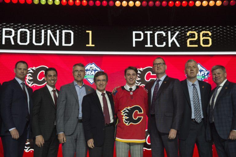Calgary Flames Jakob Pelletier Draft