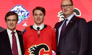 Flames Sign First-Round Draft Pick Jakob Pelletier