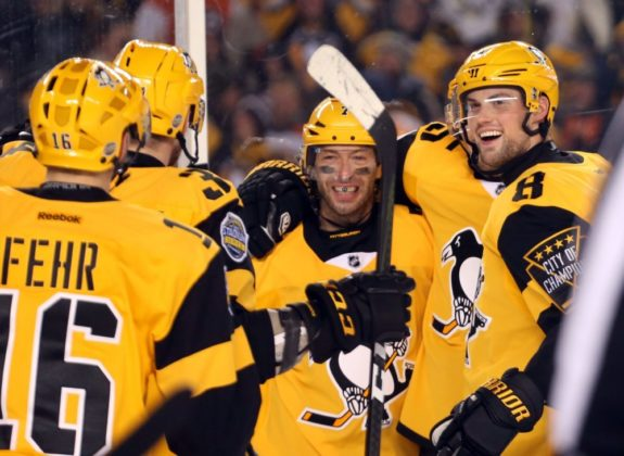 Pittsburgh Penguins, Stadium Series, Matt Cullen, Brian Dumoulin, Eric Fehr