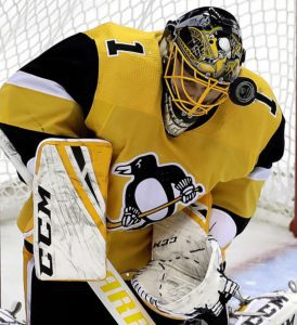 Pittsburgh Penguins goaltender Casey DeSmith