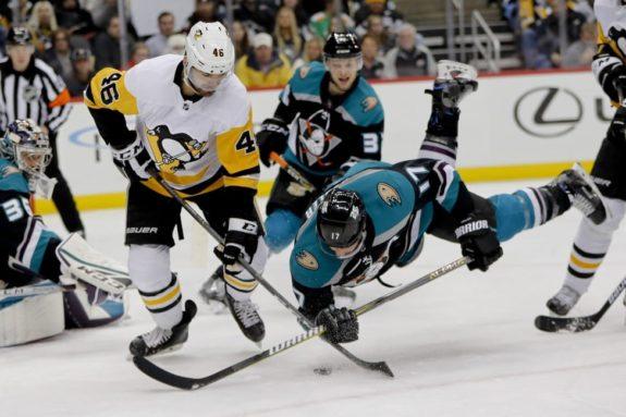 Anaheim Ducks' Ryan Kesler Pittsburgh Penguins' Zach Aston-Reese