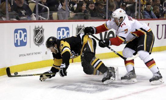 Flames Beat Penguins - Snap 4-Game Skid