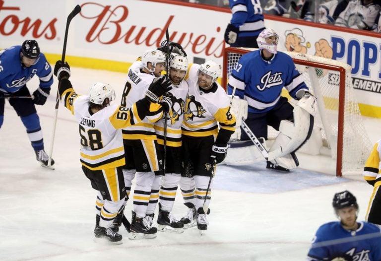 Pittsburgh Penguins vs Winnipeg Jets