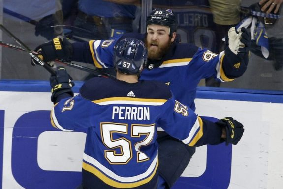 St. Louis Blues Ryan O'Reilly David Perron
