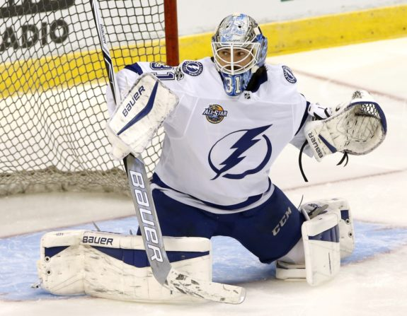 Peter Budaj Lightning