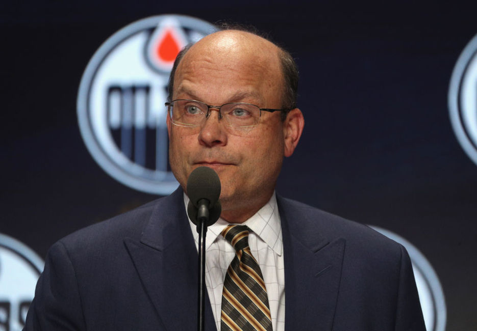 Oilers' Chiarelli Gets It All Wrong