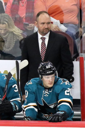 San Jose Sharks 2017-18 Review: Coach