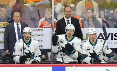 Sharks' DeBoer Tempts Fate
