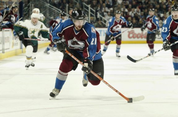 Peter Forsberg Colorado Avalanche