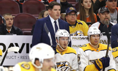 How the Predators' Lineup May Look with so Many Centers