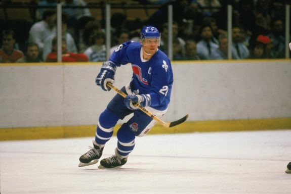 Peter Stastny of the Quebec Nordiques