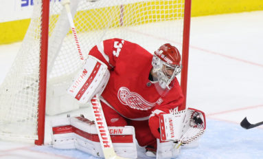 Red Wings' Mrazek Needed That Shutout