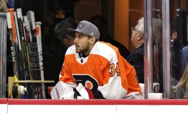 Mrazek Impresses in First Start With Flyers