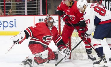 Hurricanes Pitch a Rare Shutout
