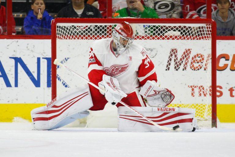 Petr Mrazek Red Wings