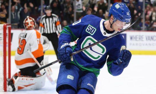 Canucks Snap Flyers Unbeaten Streak With Shootout Win