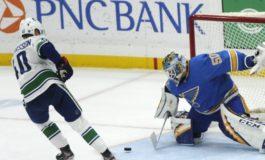 Blues & Binnington Beat Canucks in Shootout