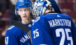 Markstrom Is the Canucks' Second-Biggest Surprise