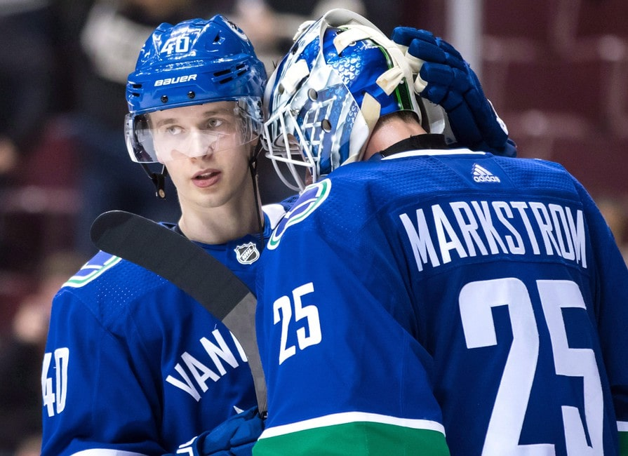 Jacob Markstrom Is The Vancouver Canucks Second Biggest Surprise