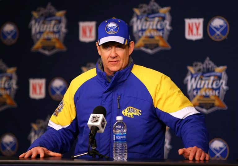 Buffalo Sabres head coach Phil Housley