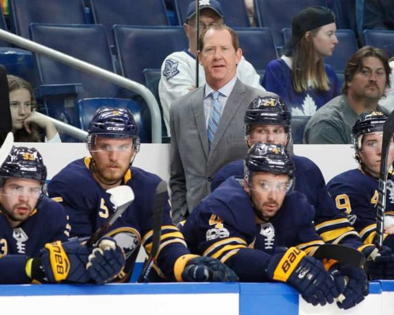 Buffalo Sabres head coach Phil Housley