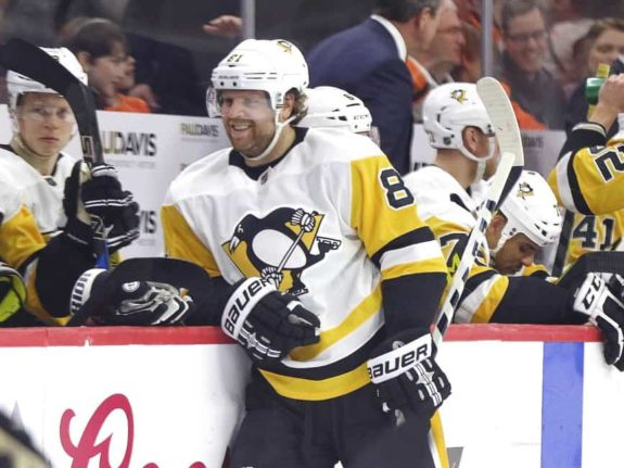 Former U.S. Olympian Phil Kessel of the Pittsburgh Penguins