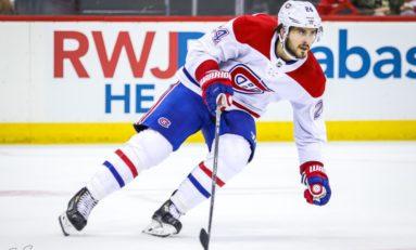 Canadiens' Phillip Danault Should Be a Selke Finalist