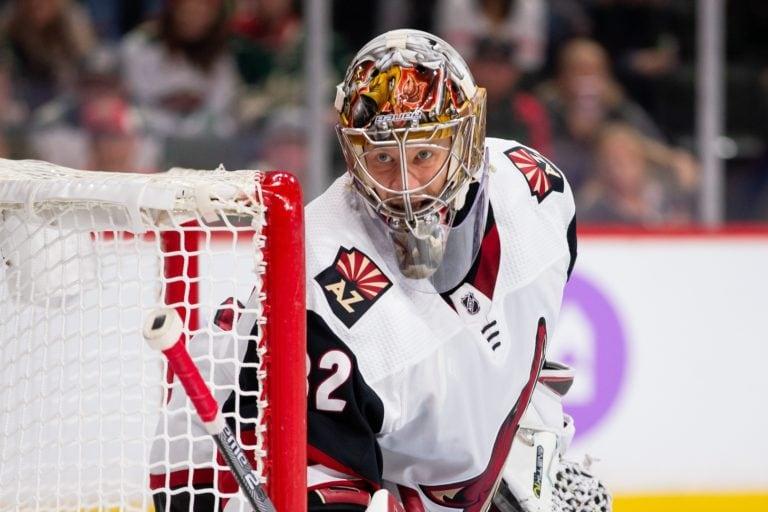 Phoenix Coyotes Antti Raanta