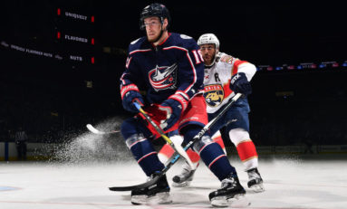 Blue Jackets Come From Behind to Rout Panthers