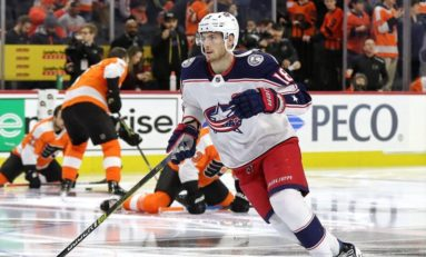Dubois Scores Twice as Blue Jackets Beat Canadiens 5-2