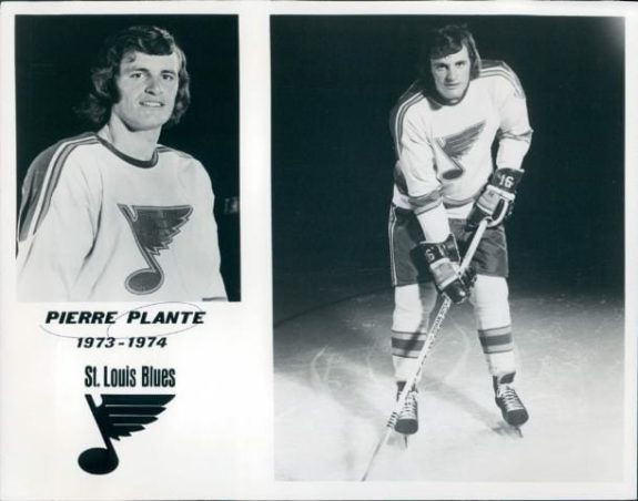 Pierre Plante St. Louis Blues
