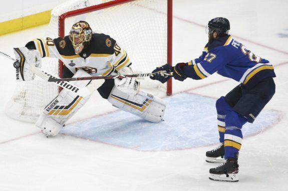 Boston Bruins Tuukka Rask St. Louis Blues Alex Pietrangelo