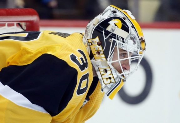 Pittsburgh Penguins goaltender Matt Murray