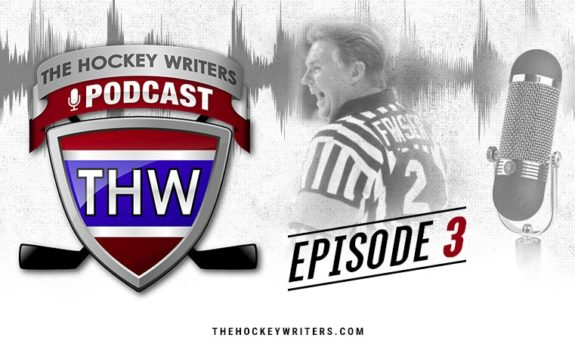 The Hockey Writers Podcast Episode 3 Kerry Fraser