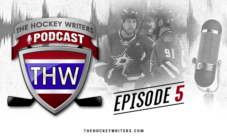 The Hockey Writers Podcast Episode 5 Jamie Benn Tyler Seguin