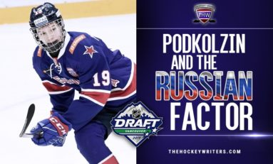 Canucks' Podkolzin: Drafting a Russian Bulldog