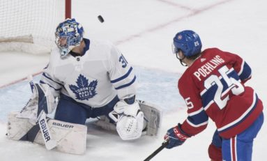 Canadiens' Poehling Pleased to Return to Bell Centre