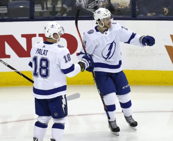 Tampa Bay Lightning Brayden Point Ondrej Palat