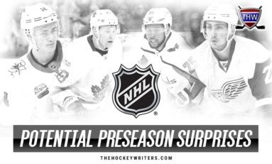 NHL Preseason: Potential Surprise Player for Every Team