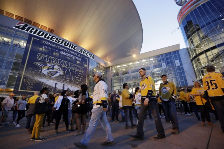Nashville Predators Bridgestone Arena