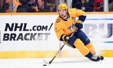 Hynes, Predators Win 6-5 in Shootout in Return to New Jersey