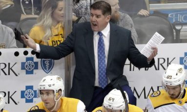 Predators Had to Fire Peter Laviolette