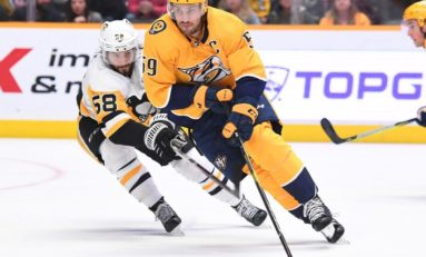Josi Scores Twice as Predators Beat Struggling Sharks 5-2