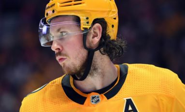 NHL Fines Predators' Ryan Johansen $5,000 for Elbowing