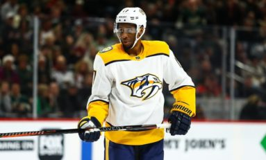 Predators Need More Goals from Simmonds