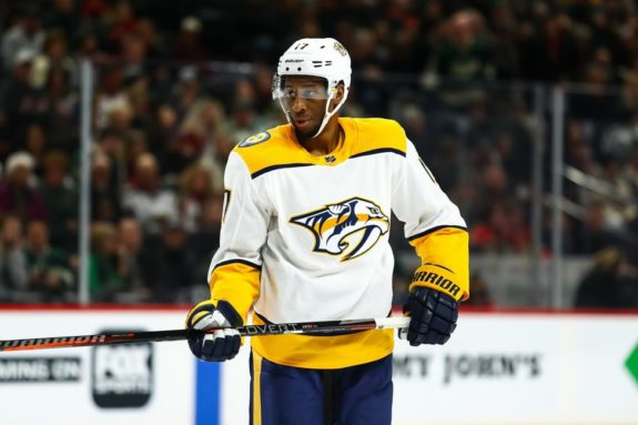 Nashville Predators Wayne Simmonds