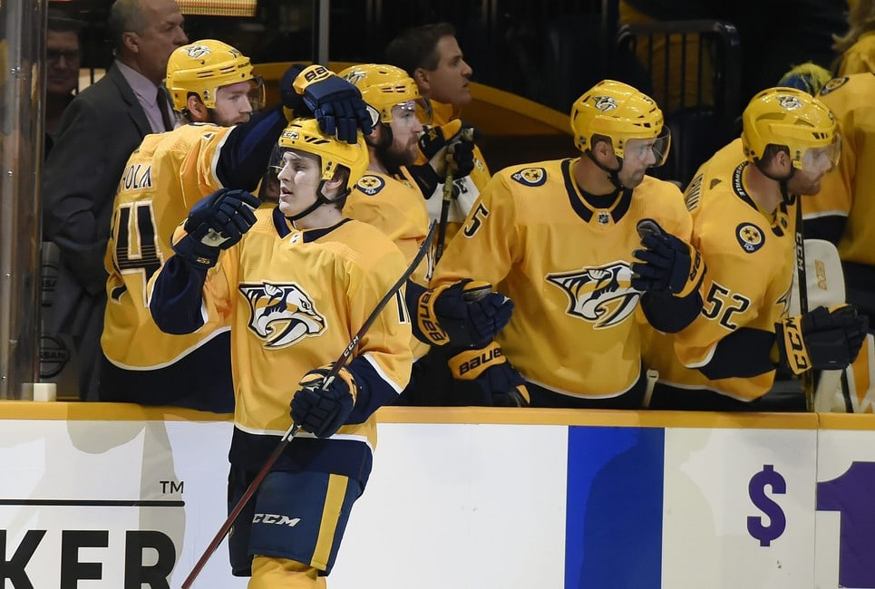 Nashville Predators' 2018-19 Mid-Season Awards