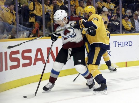 Gabriel Landeskog's injury put the Avalanche against the wall.