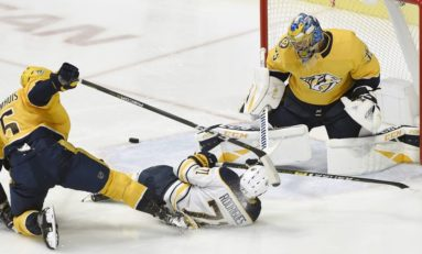 Predators Hold on to Beat Sabres