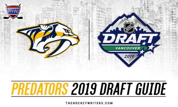 2019 Nashville Predators NHL Draft Guide